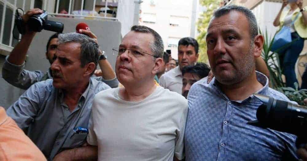 Trump Threatens 'Large Sanctions' On Turkey Over Imprisoned Christian Pastor