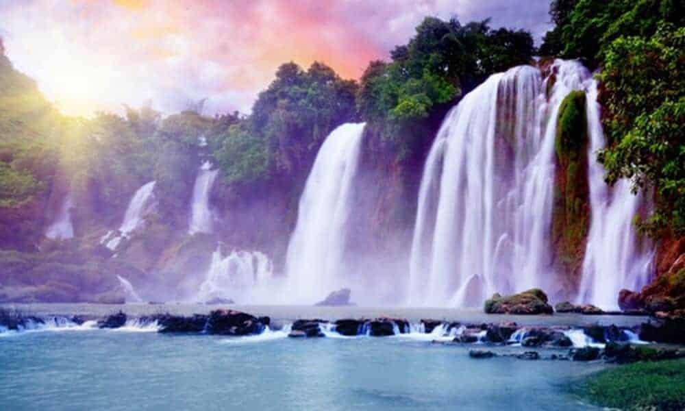 thác nước đẹp