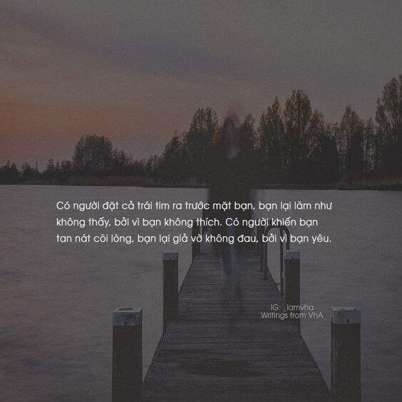 đắng cay buồn tủi trong tình yêu
