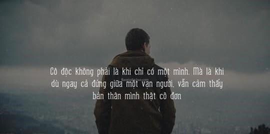 cô đơn trong cuộc sống