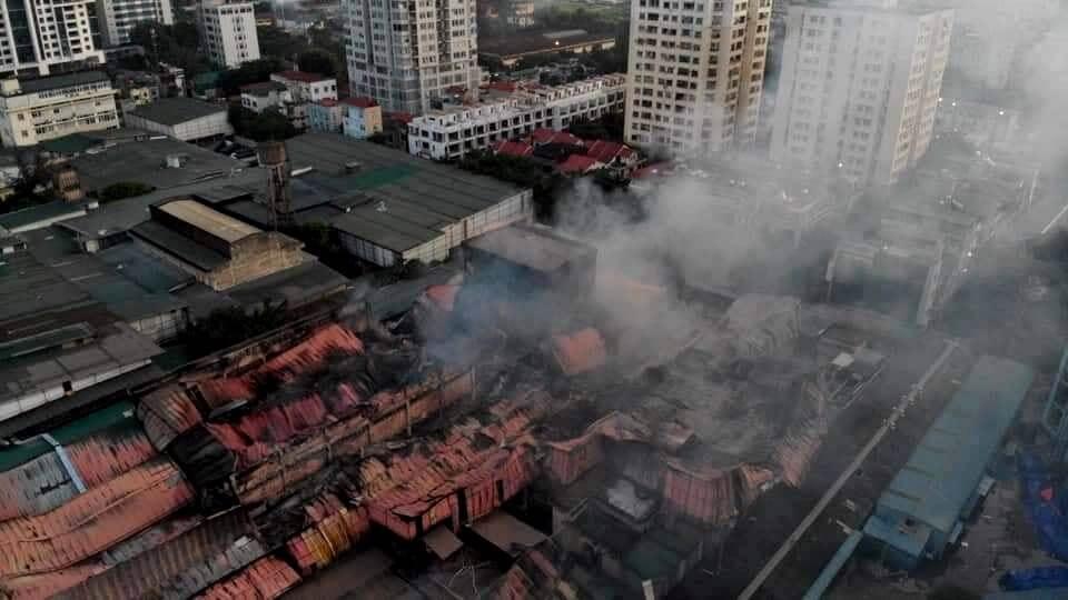 Sau vụ cháy Rạng Đông chỉ số thủy ngân ở ngưỡng an toàn
