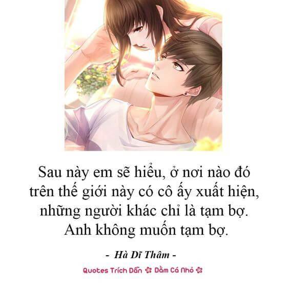 câu nói tình yêu