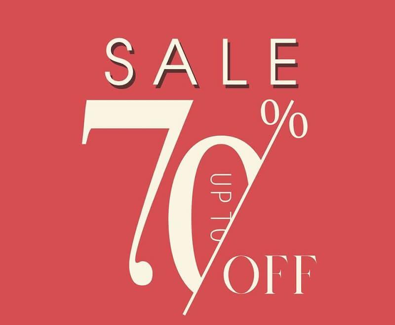 Sale off và Sale up to là gì? Sự khác nhau giữa hai cụm từ này