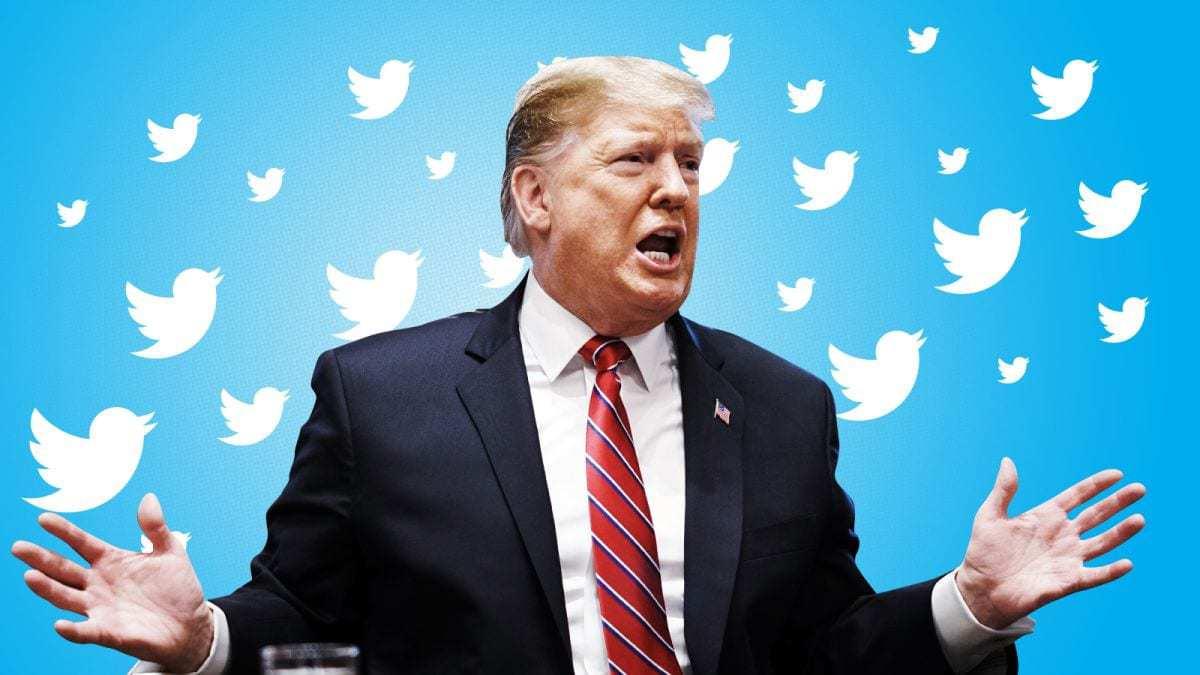 Tổng thống Trump có một tài khoản twitter hoạt động sôi nổi