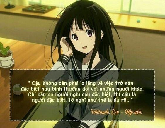 các câu nói hay trong anime