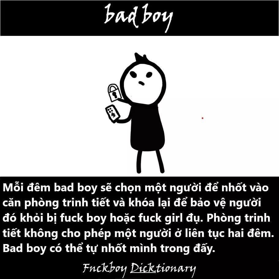 bad boy là gì