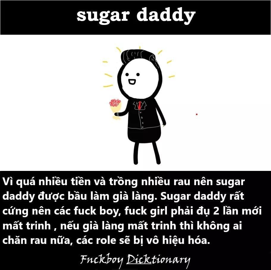 sugar daddy là gì