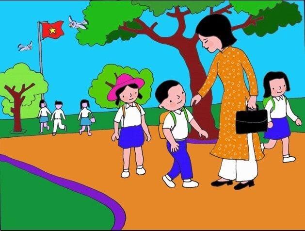 Trải nghiệm đáng nhớ về ngày đầu tiên đi học