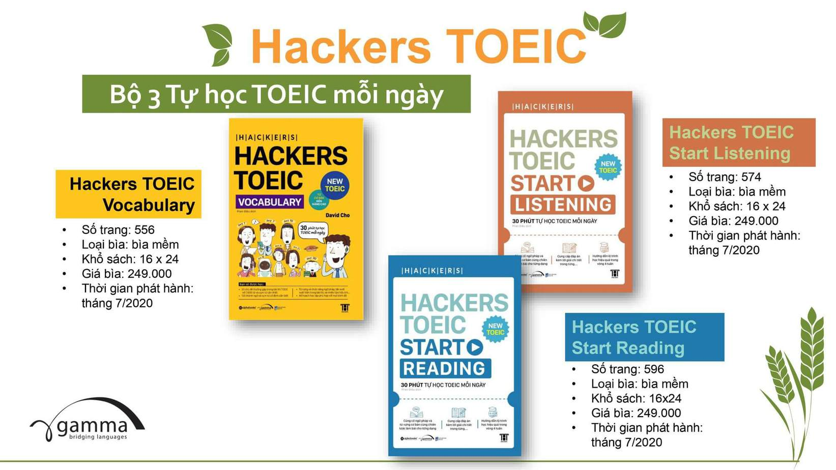 Sách Hacker Toeic Vocabulary