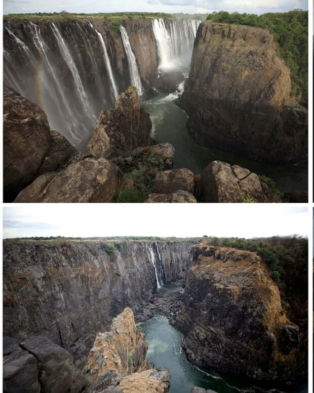 Victoria Falls: Is Zimbabwe drying up?