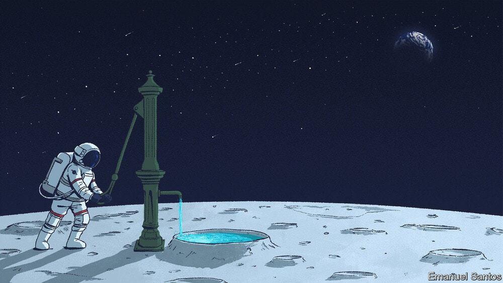 Đã có bằng chứng rõ ràng cho thấy có nước trên mặt trăng